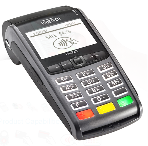iWL 250G Mobile Wireless Credit Card Payment Terminal